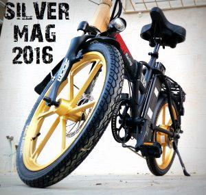 אופניים חשמליות סילבר מגנזיום