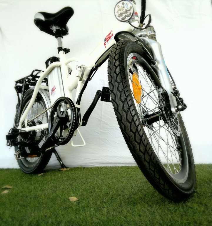 אופניים חשמליות מתקפלות פישר גולד  2015 FISHER GOLD