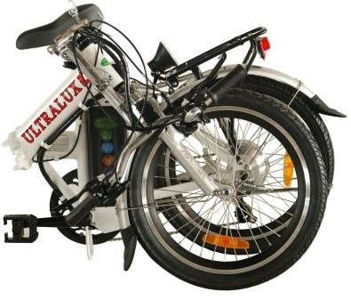 אופניים חשמליות ULTRALUX GREENBIKE מקופל