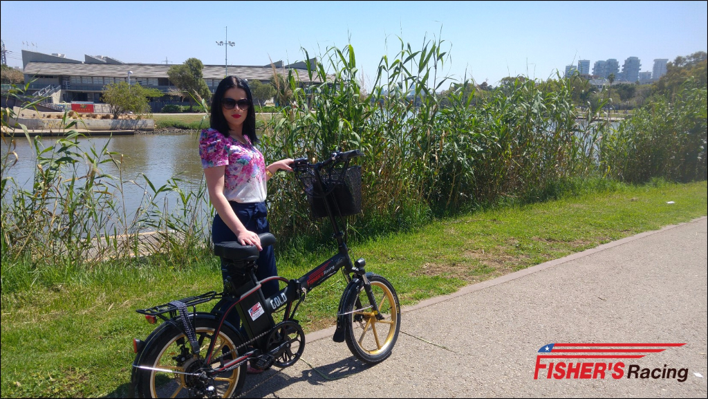 אופניים חשמליות מתקפלות