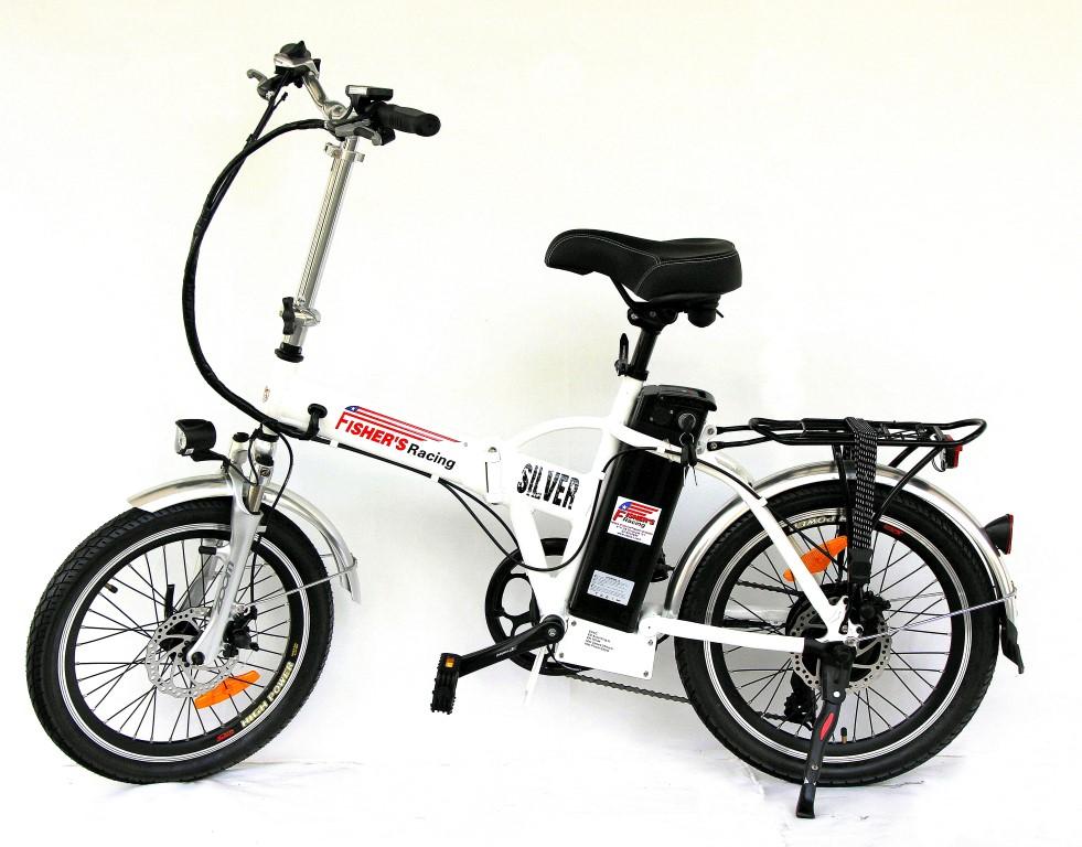 אופניים חשמליות פישר סילבר 2017 FISHER SILVER