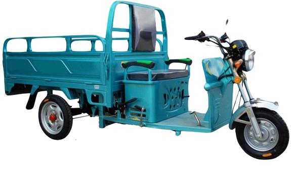 רכב תפעולי חשמלי - דגם ריקשה