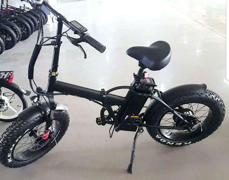 אופניים חשמליים פישר גלגלי בלון