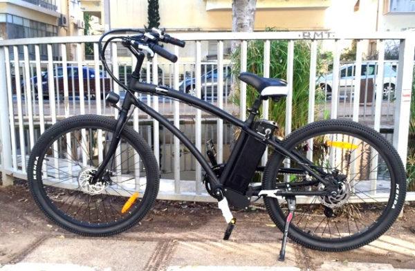 אופניים חשמליות דגם הארלי
