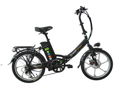 אופניים חשמליות מתקפלות דגם גרין בייק פרימיום  Premium City20 Greenbike