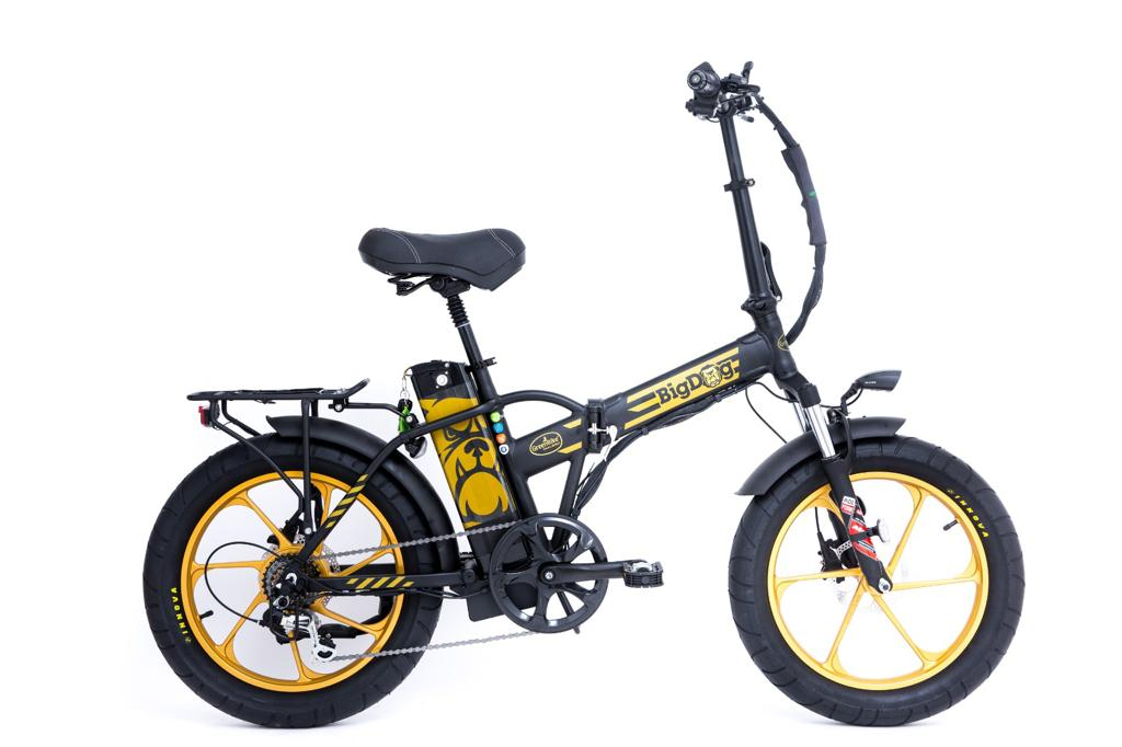 אופניים חשמליים גלגלי בלון GreenBike Big Dog Extreme 48V