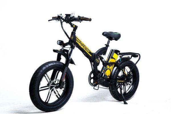 אופניים חשמליים גלגלי בלון GreenBike Big Dog OFF ROAD 48V