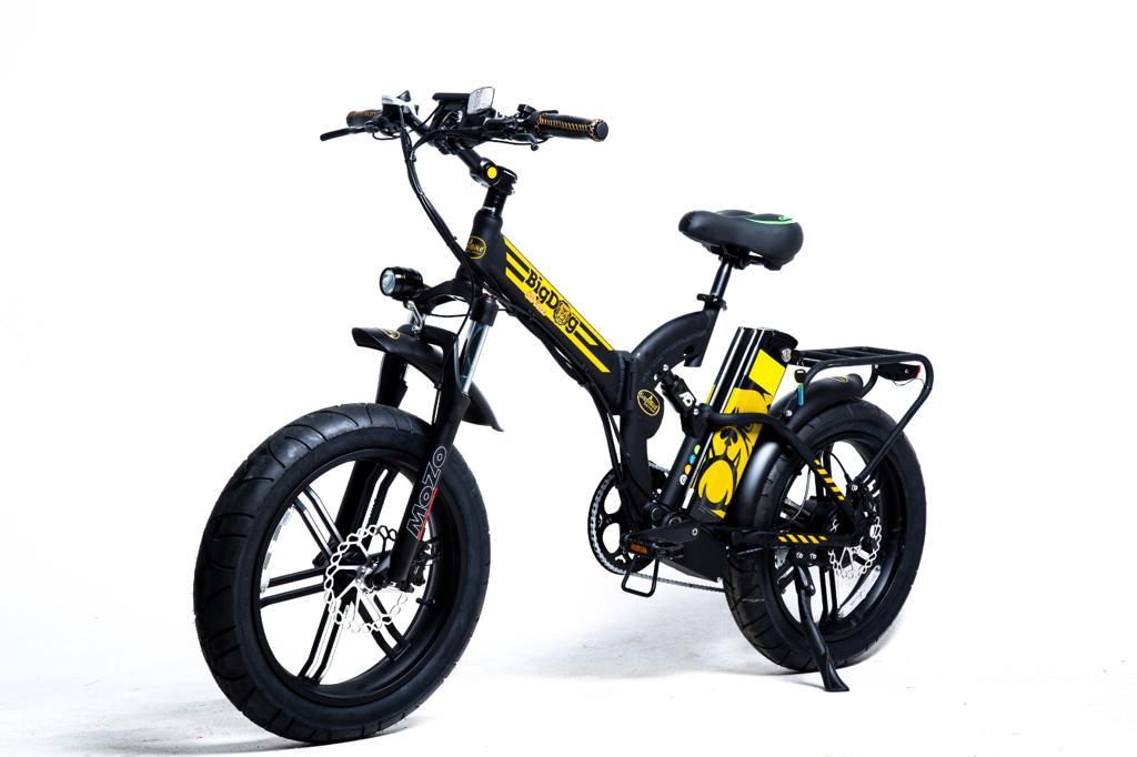 מטורף! אופניים חשמליים גלגלי בלון GreenBike Big Dog OFF ROAD 48V