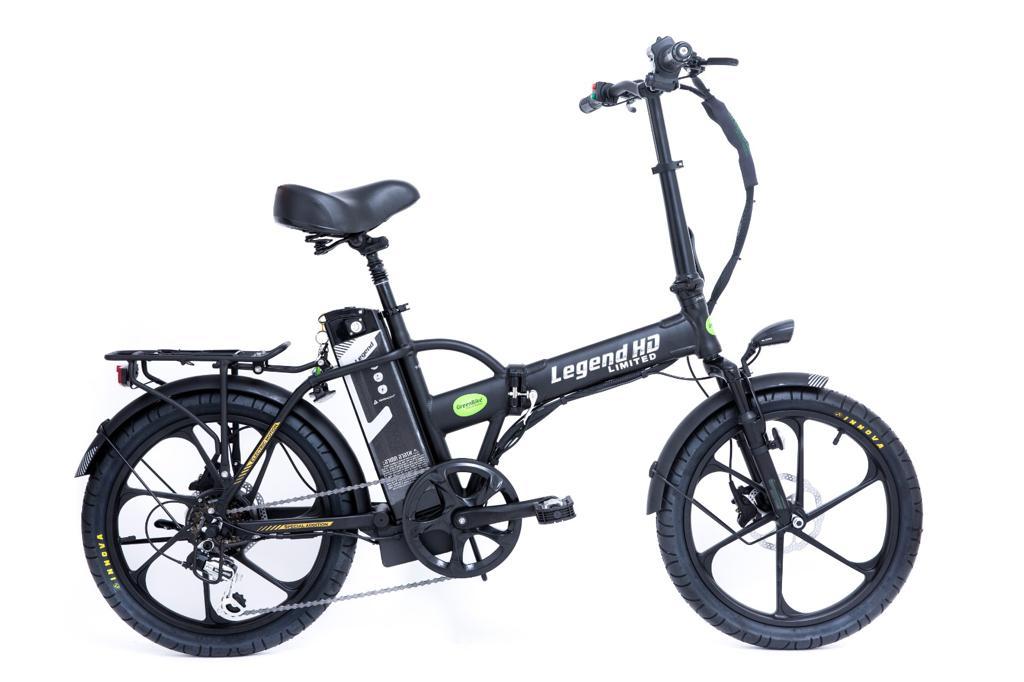 חדש!! אופניים חשמליים גרין בייק לג`נד Greenbike Legend HD 48V