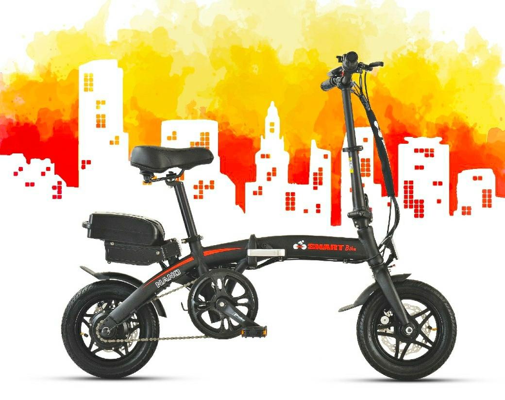 אופניים חשמליים מתקפלים Smart Bike NANO - קטנים במיוחד!