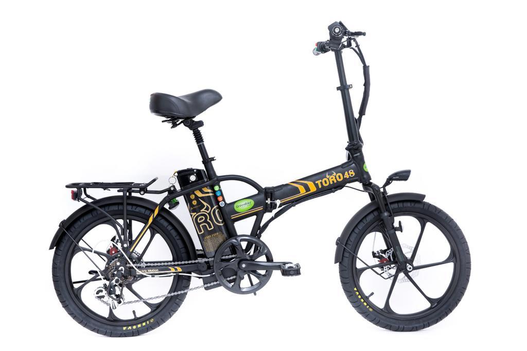 אופניים חשמליים מתקפלים GreenBike TORO 48V