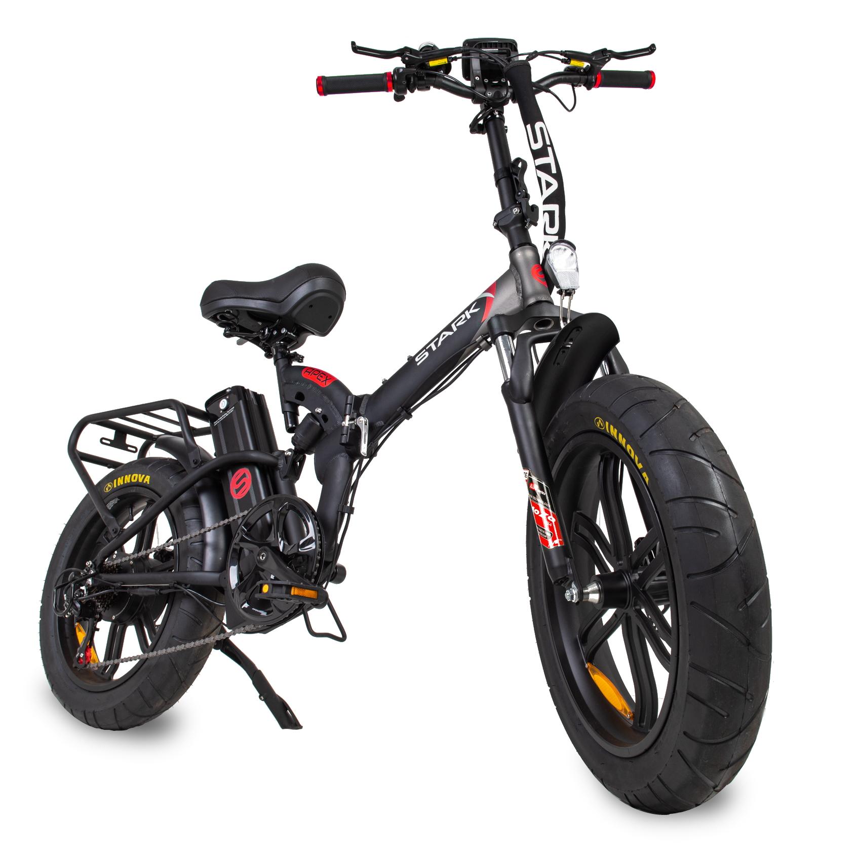 מטורף! אופניים חשמליים גלגלי בלון STARK APEX 48V13A